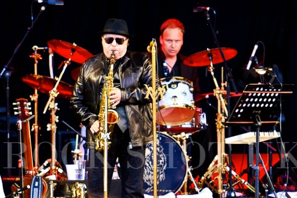 with Van Morrison June 2011