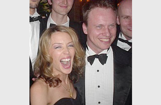 Kylie with Jeff Lardner
