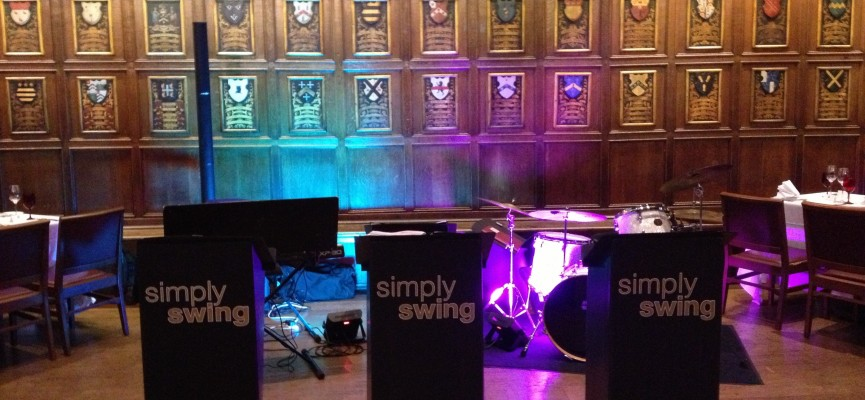 Simply Swing at Middle Temple Hall
