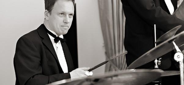 Drummer up close