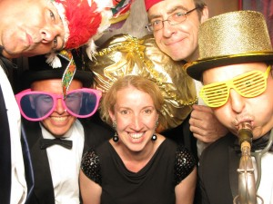 Band in Photo Booth