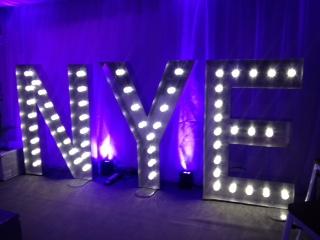 New Years Eve Wedding Reception