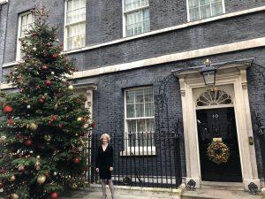 Sandra Lambert at Downing St.